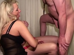 German MILF and Step-Daughter fuck correspond to Guy