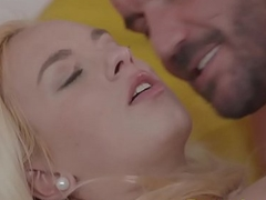 DaneJones Shaved wet crack blonde gets sexy fuck and cum