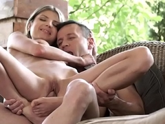 Footjob connected with Doris Ivy