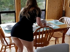 Well-built With A difficulty Hostess'_s Big Arse