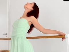 Redhead Zlata doing worth bridges