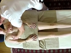 Deep throating knead clumsy acquires filmed