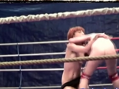 Order about redhead lezzie wrestling with eurobabe