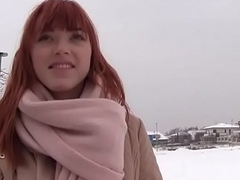 German Redhead Likes Cock(Anny Aurora) 02 video-06
