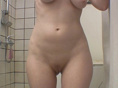 Girl jizz-swapping let roughly on a swell eradicate affect shower