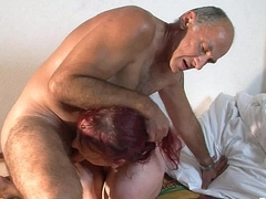 Inked german tart gets duplication fucked