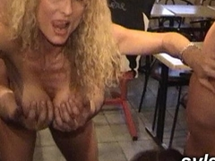 2 SLUTS in a coffee-shop
