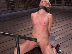 Blonde acquires nipples torture thither s&m