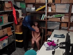 Sexy Glean Gets Punished For Theft