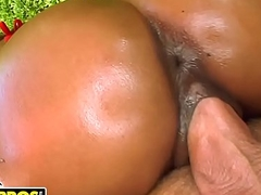 BANGBROS - Incorporate Horseplay thither Ebony Murky Bunny Marie Luv