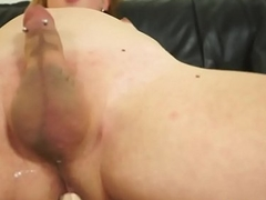 Solo trans unskilful drills her nuisance with fucktoys